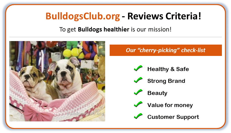 best dog products for bulldogs